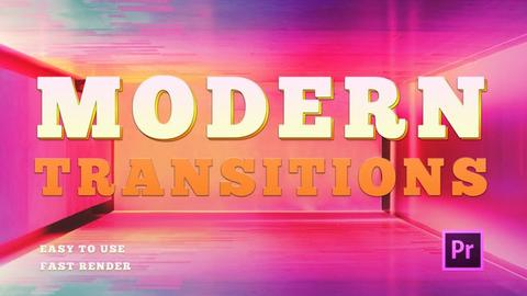 Modern Transitions Premiere Pro Template