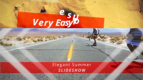 Elegant Summer Slideshow After Effects Template