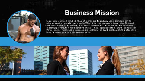 Modern corporate presentation Fly After Effects Template