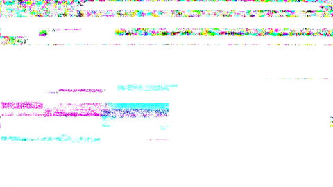 Noise Glitch Video Damage stock footage