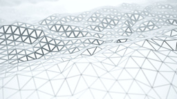 Smooth waving loop of polygon edges Animation