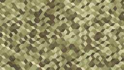 Polycubes B camo army Animation