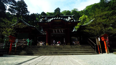 Japanese shrine. There and also in the power spot Footage