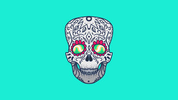 Cool Skull After Effects Project