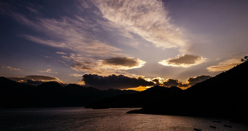 Lugu Lake Timelapse ビデオ