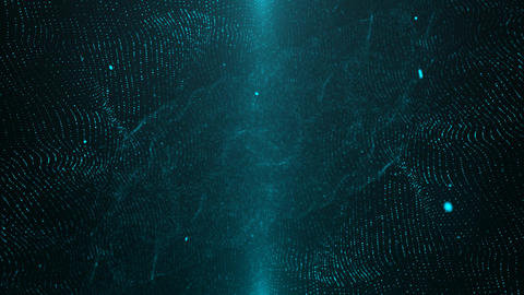 Blue Particle Looped Background 03 GIF