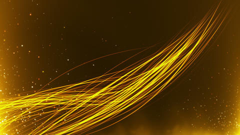 Cinematic Gold Background 08 Animation
