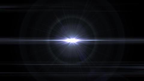 爆発するキラキラエフェクト-ホワイト/透過背景 CG動画