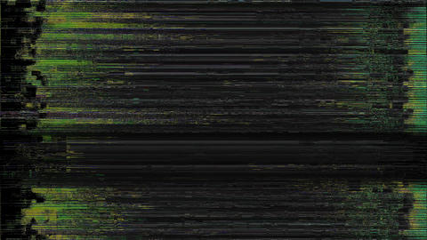 Bad Tv Signal On The Tv Screen Lines Background Motion Traffic Animation