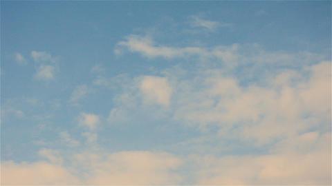 Timelapse of Pink Pastel Clouds Footage