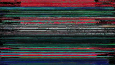 Abstract Digital Animation Pixel Noise Glitch Error Video Damage Intelligence Animation
