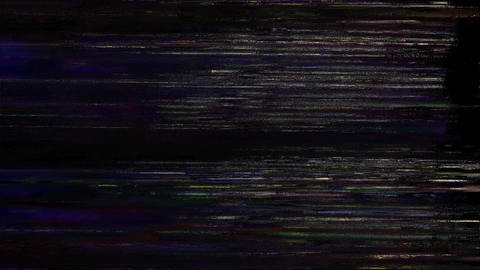 Digital Pixel Noise Glitch Art Effect Answer Animation