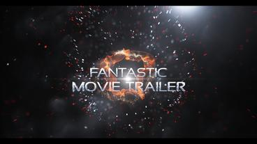 Fantastic Movie Trailer After Effects Template