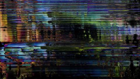 Glitch - Screen Led Error Mixer Animation