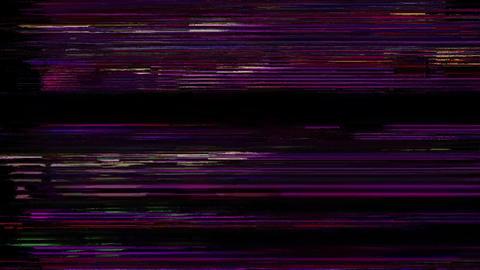 Internal Analogue Glitchy Bad VHS Tape Animation