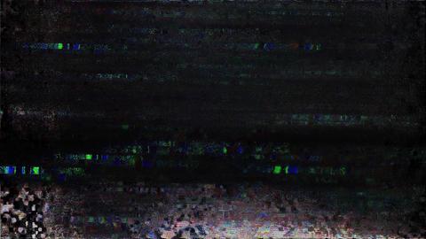 Old Tv Vhs Glitch Interference Screen Family Animation