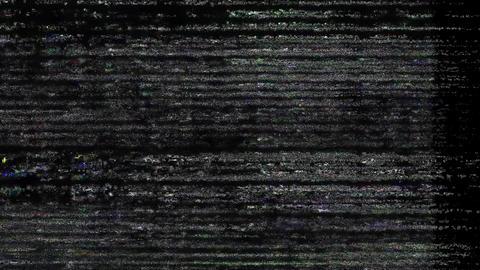 Glitch Effect Bad TV Freedom Animation