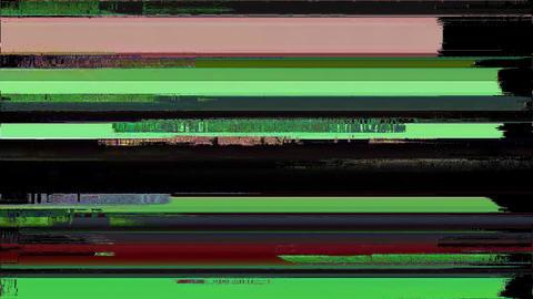 Flatiron Glitch TV Static Noise Signal Problems Animation