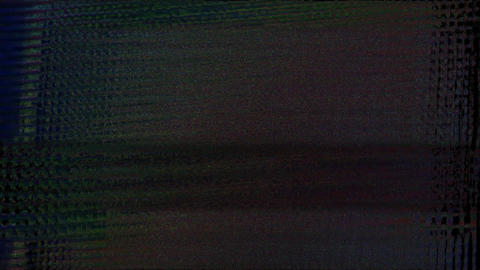 Noise Glitch Tv Bad Signal Effect Coral Animation