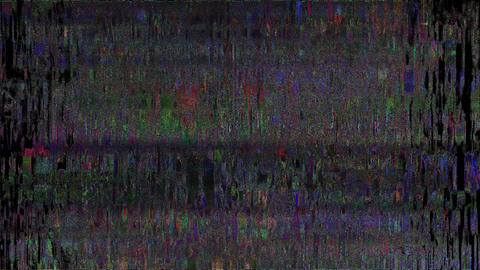 Informed TV Failure Abstract Glitch Background Stock Video Footage