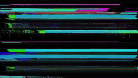 Poseidon Distortion Background Digital Glitch Animation