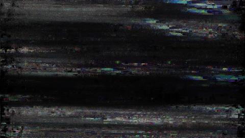 South Signal Niose Grain Damaged Glitch Video Background Animation