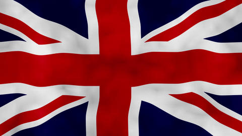 Uk flag waving united kingdom flag waving Britain Flag uk flag background animation 4k Animation