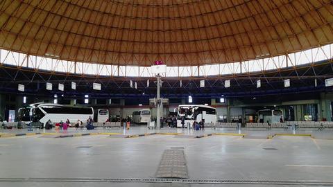 Greece Macedonia KTEL Bus Station platforms in Thessaloniki GIF