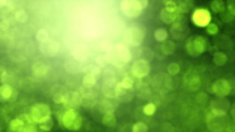 Green Bokeh Stock Video Footage