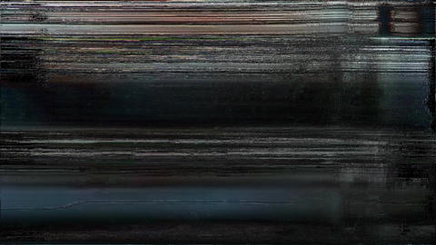 Real Glitch And Noise Digital Effect Animation