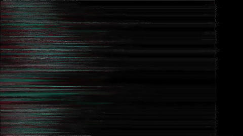 Redwood No Signal On Television Gltich Effect Animation
