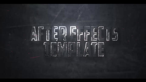 CINEMATIC LINES TEXT INTRO After Effects Template