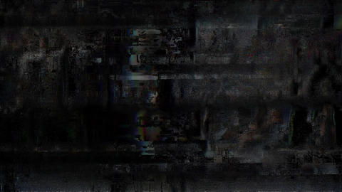 Riddle Colored Noise Digital Grunge Glitch Damage Animation