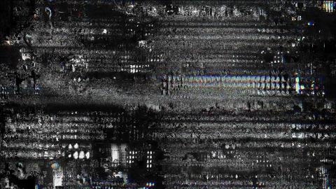 Shore Signal Niose Grain Damaged Glitch Video Background Animation