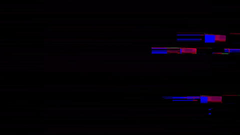 Strawberry Digital Animation. Pixel Noise Glitch Error Video Damage Animation