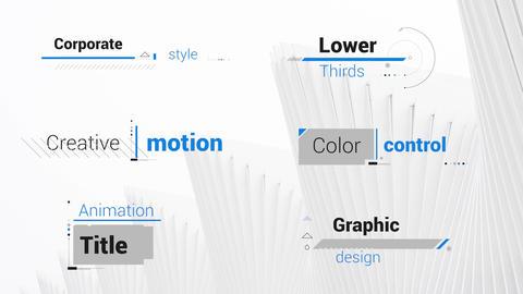 Corporate Title 4K モーショングラフィックステンプレート