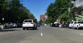 Daytime Establishing Shot of Beacon Street in Boston Footage