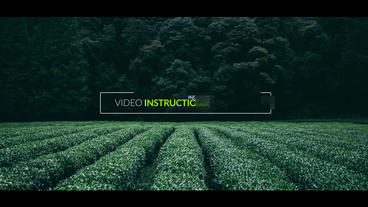 9 Dynamic Titles stock footage