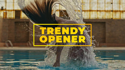 Trendy Opener After Effects Template
