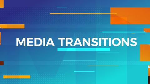 Media Transitions After Effects Template