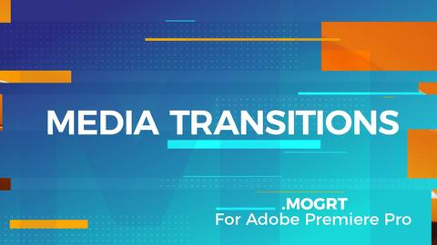 Media Transitions Plantillas de Motion Graphics
