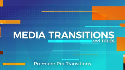 Media Transitions Premiere Pro Template