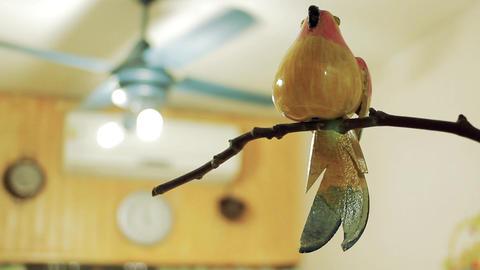 Wooden Bird in A House Archivo