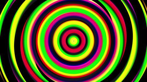3d hypnotic spirals, swirling radial vortex background, computer generated art Footage