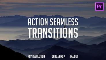 Action Seamless Transitions Presets Premiere Pro Effect Preset
