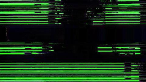 Scribe Glitch. Computer Screen Error. No Signal Animation