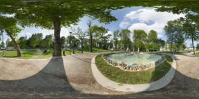 first May Square in Udine VR 360° Photo