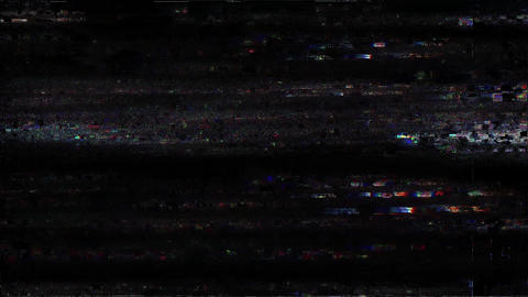 Glitch TV Static Noise Signal Problems Seed Animation