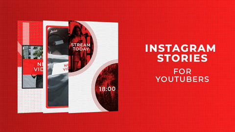 Instagram Stories For YouTubers After Effects Template