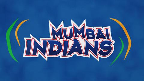 Mumbai Indians Flag Cricket Team Flag Animation